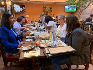 AMWA-MAC happy hour in Bethesda